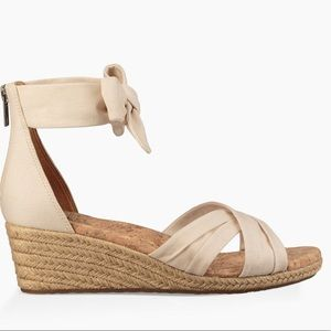 UGG Traci Espadrille Wedge Sandals